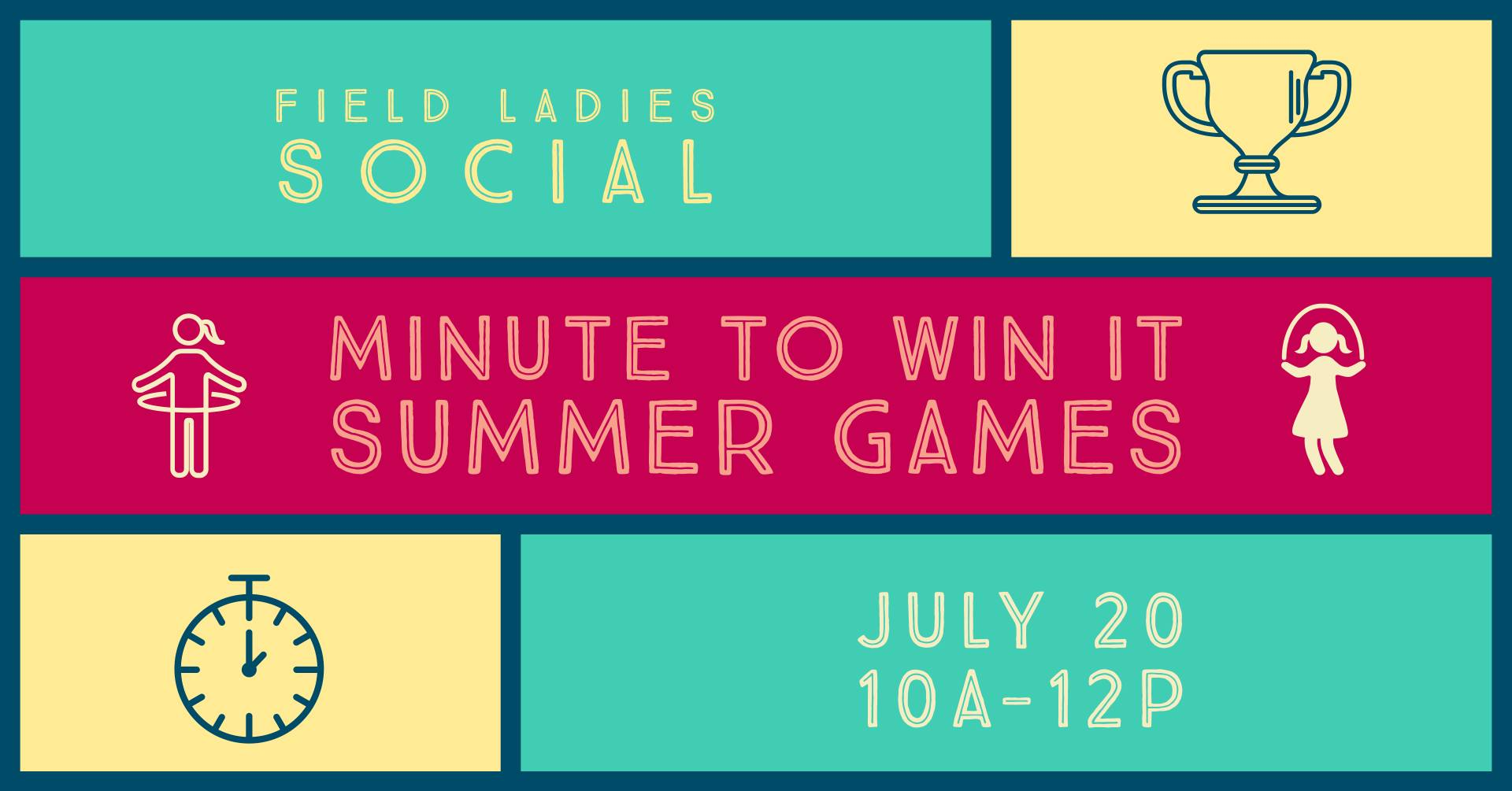 Women's Connection - Minute to Win It Summer Games